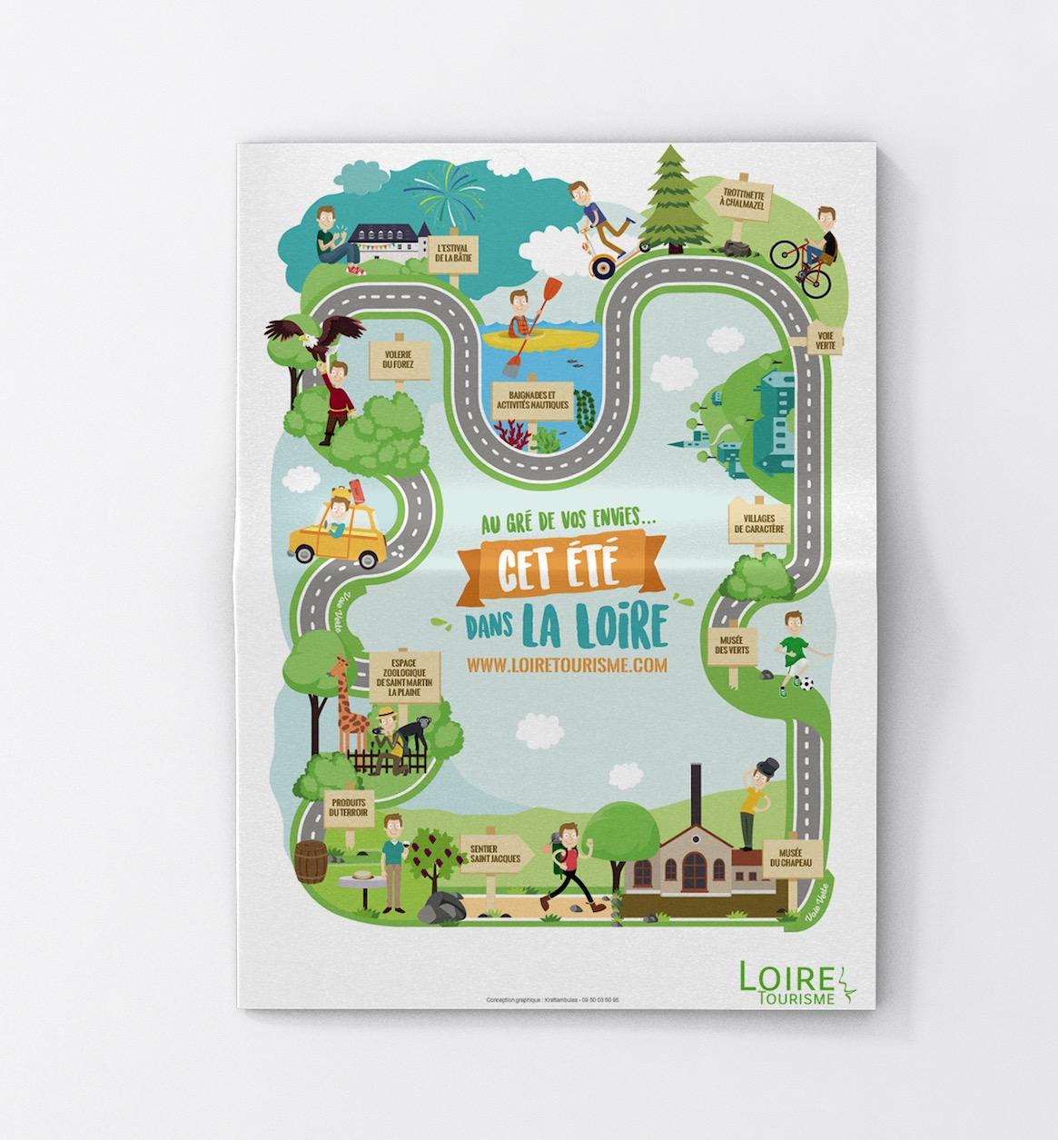 Carte Loire
